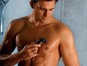 Depilación masculina maquinilla manual
