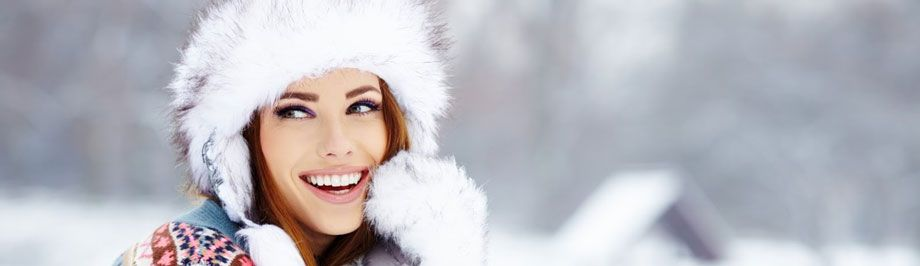 cuidar piel mujer frio